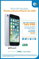 Ofertas de Entel, pórtate y lleva tu iphone 6 de 32GB