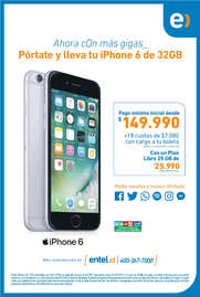 pórtate y lleva tu iphone 6 de 32GB