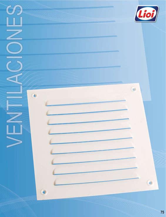 Ofertas de Construmart, Lioi: Ventilaciones