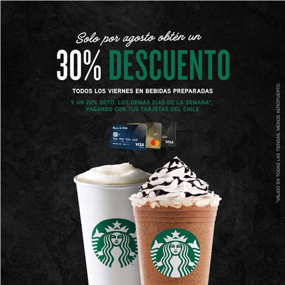 Ofertas de Starbucks, 30% De Descuento