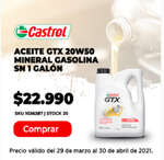 Ofertas de Autoplanet, Aceite GTX 20W50