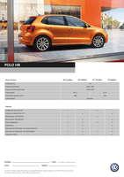 Ofertas de Volkswagen, Nueva Polo HB
