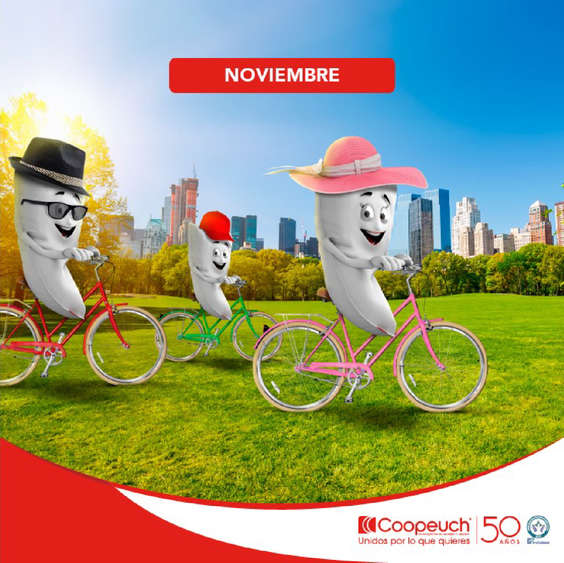 Ofertas de Banco Coopeuch, Beneficios noviembre