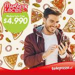 Ofertas de Telepizza, Martes de locos