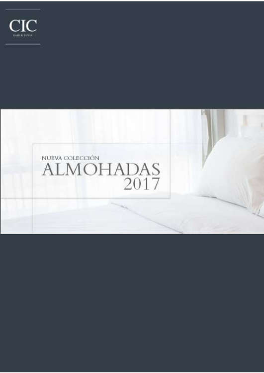 Ofertas de CIC, colección almohadas 2017