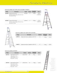 Comprar escaleras aluminio ofertas y tiendas ofertia for Escalera plegable aluminio sodimac