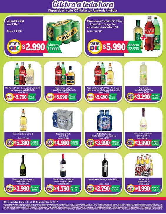 Ofertas de Ok Market, Catálogo noviembre 2017