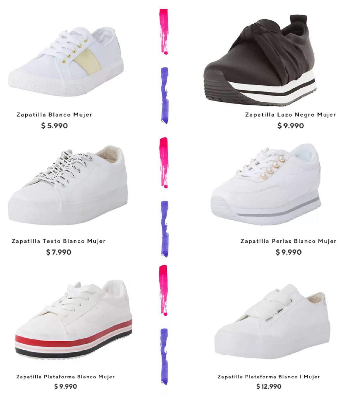 c11ece15 Comprar Zapatillas mujer en Villarrica - Ofertas y tiendas - Ofertia
