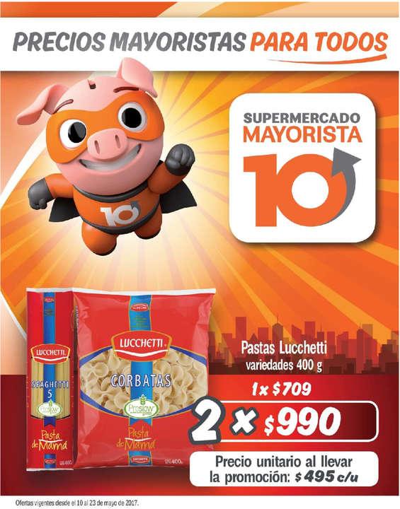 Ofertas de Mayorista 10, Catálogo Mayo