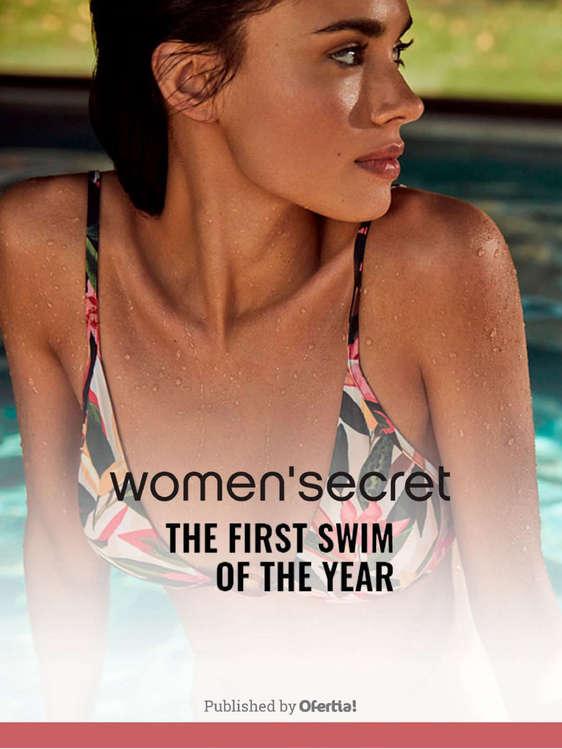 Ofertas de Women'Secret, The First Swim Of The Year