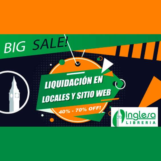 Ofertas de Librería Inglesa, Big Sale