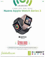 Ofertas de Falabella, Nuevo Apple Watch Series 3