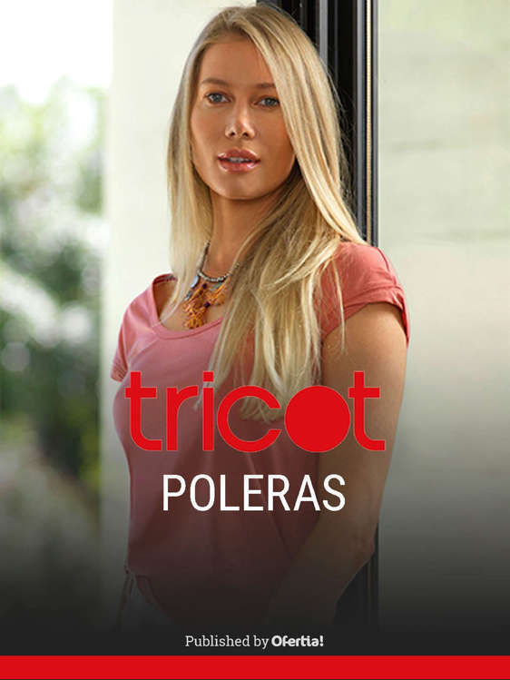 Ofertas de Tricot, Poleras