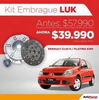 Kit Embrague
