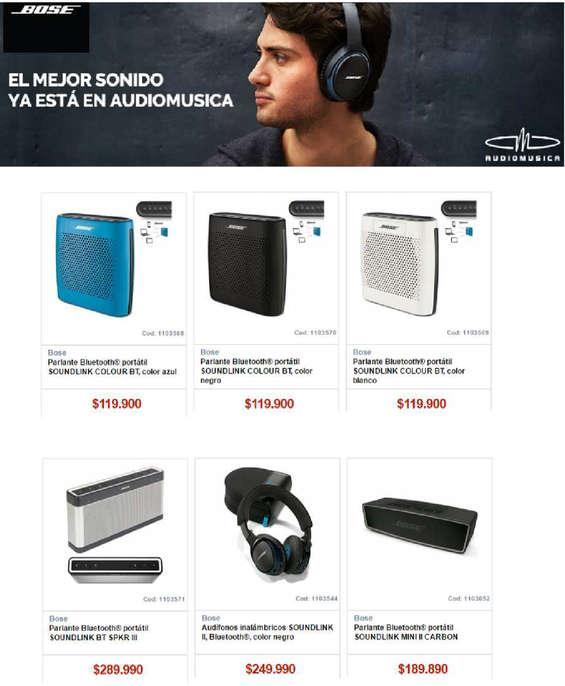 Ofertas de Audiomusica, bose