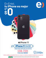 Ofertas de Entel, iPhone 11