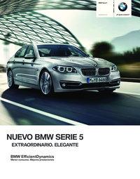 Nuevo BMW Serie 5. Extraordinario. Elegante