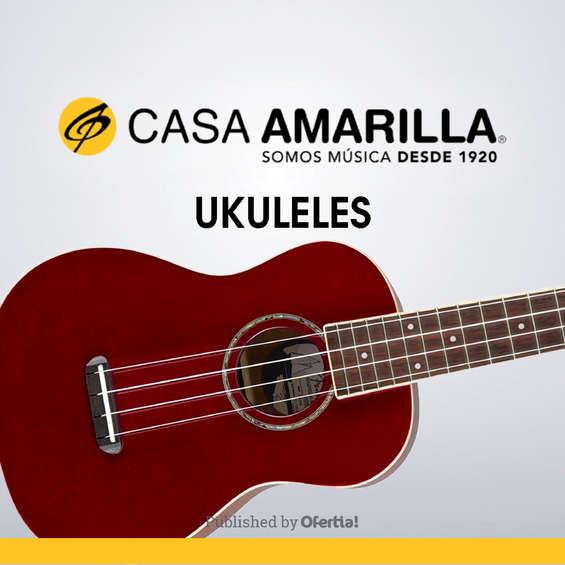 Ofertas de Casa Amarilla, Ukuleles