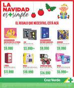 Ofertas de Cruz Verde, La Navidad Es Mas Simple