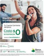 Ofertas de Banco Falabella, Cuenta Corriente