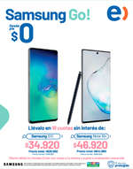 Ofertas de Entel, Samsung Go!