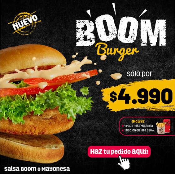 Ofertas de Tarragona, Boom burger