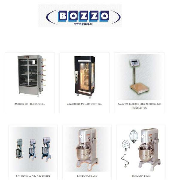 Ofertas de Bozzo, Productos