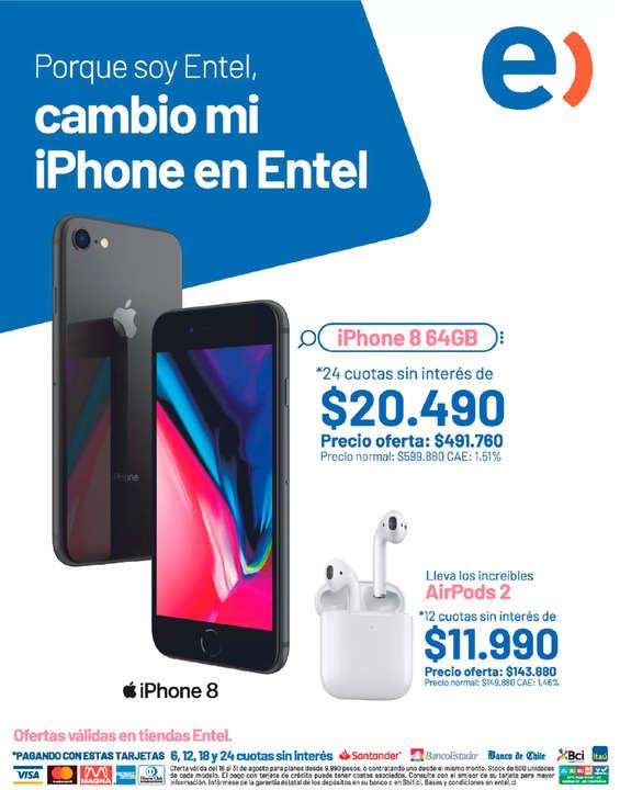 Ofertas de Entel, Cambio Mi iPhone